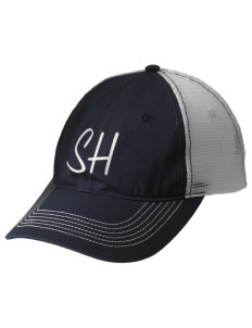 Southern Heights Elementary School Bulldogs Embroidered Mesh Back Cap