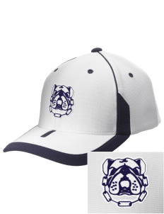 Southern Heights Elementary School Bulldogs Embroidered M2 Universal Fitted Contrast Cap