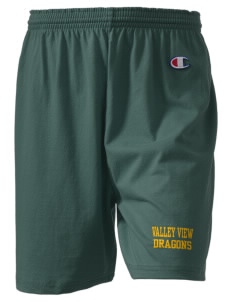 "Valley View Elementary School Dragons  Champion Women's Gym Shorts, 6"" Inseam"