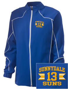 Sunnydale Elementary School Suns Embroidered Russell Women's Full Zip Jacket