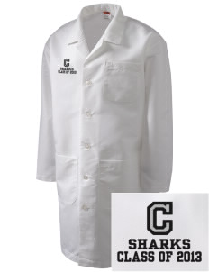 Clark Elementary School Sharks Full-Length Lab Coat