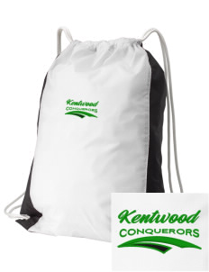 Kentwood High School Conquerors Embroidered Holloway Home and Away Cinch Bag