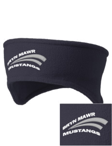 Bryn Mawr Elementary School Mustangs Embroidered Fleece Headband