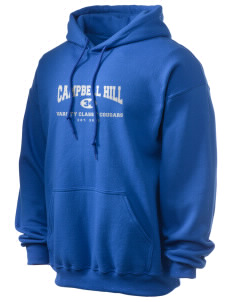 Campbell Hill Elementary School Cougars Cubs Ultra Blend 50/50 Hooded Sweatshirt