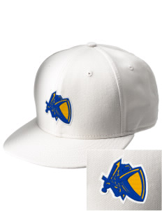Kellogg Middle School Knights  Embroidered New Era Flat Bill Snapback Cap