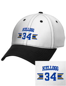 Kellogg Middle School Knights Embroidered New Era Snapback Performance Mesh Contrast Bill Cap