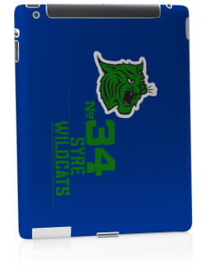 Syre Elementary School Wildcats Apple iPad 2 Skin