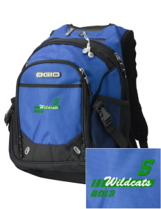 Syre Elementary School Wildcats Embroidered OGIO Fugitive Backpack