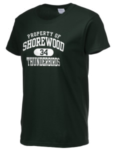 Shorewood High School Thunderbirds Women's 6.1 oz Ultra Cotton T-Shirt