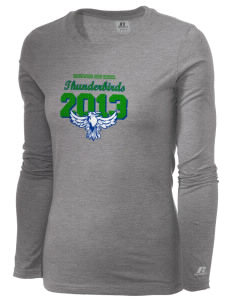 Shorewood High School Thunderbirds  Russell Women's Long Sleeve Campus T-Shirt