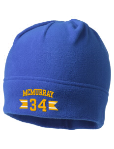 McMurray Middle School Mustangs Embroidered Fleece Beanie
