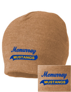 McMurray Middle School Mustangs Embroidered Beanie