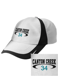 Canyon Creek Elementary School Coyotes Embroidered Nike Golf Colorblock Cap