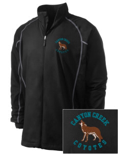 Canyon Creek Elementary School Coyotes Embroidered Men's Nike Golf Full Zip Wind Jacket