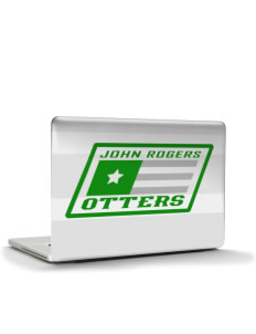 "John Rogers Elementary School Otters Apple Macbook Pro 17"" (2008 Model) Skin"