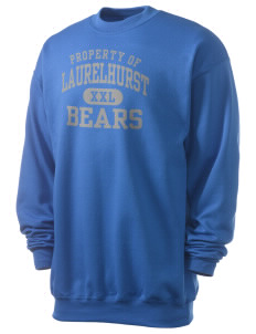 Laurelhurst Elementary School Bears Men's 7.8 oz Lightweight Crewneck Sweatshirt