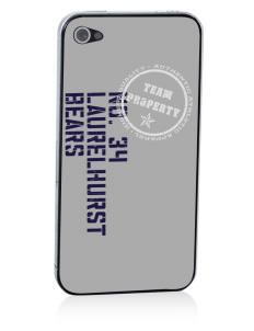 Laurelhurst Elementary School Bears Apple iPhone 4/4S Skin