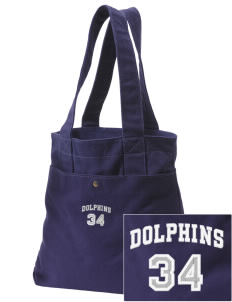Wedgwood Elementary School Dolphins Embroidered Alternative The Berkeley Tote