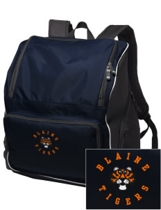 Catherine Blaine School Tigers Embroidered Holloway Backpack