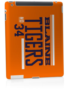 Catherine Blaine School Tigers Apple iPad 2 Skin