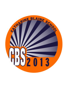 Catherine Blaine School Tigers Sticker