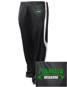 Franklin High School Quakers Embroidered Holloway Men's Tricotex Warm Up Pants