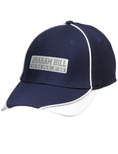 Graham Hill Elementary School Whales Embroidered New Era Contrast Piped Performance Cap