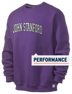 John Stanford International School Lions  Russell Men's Dri-Power Crewneck Sweatshirt