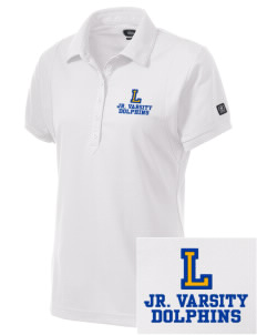 Lawton Elementary School Dolphins Embroidered OGIO Women's Jewel Polo