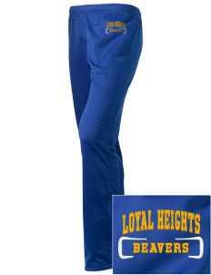 Loyal Heights Elementary School Beavers Embroidered Holloway Women's Contact Warmup Pants