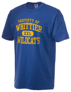 Whittier Elementary School Wildcats  Russell Men's NuBlend T-Shirt