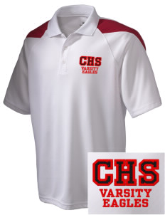 Cleveland High School Eagles Embroidered Holloway Men's Frequency Performance Pique Polo