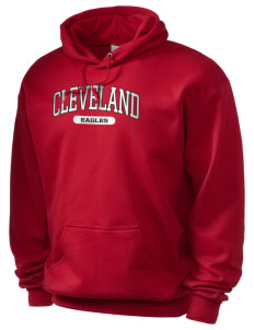 Cleveland High School Eagles Holloway Men's 50/50 Hooded Sweatshirt