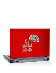 "Cleveland High School Eagles 14"" Laptop Skin"