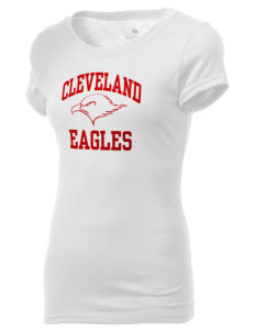 Cleveland High School Eagles Holloway Women's Groove T-Shirt