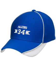 Fairmount Park Elementary School Falcons Embroidered New Era Contrast Piped Performance Cap