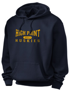 High Point Elementary School Huskies Holloway Men's Heavyweight Hooded Sweatshirt