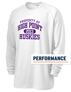 High Point Elementary School Huskies Men's Ultimate Performance Long Sleeve T-Shirt
