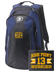 High Point Elementary School Huskies Embroidered OGIO Marshall Backpack