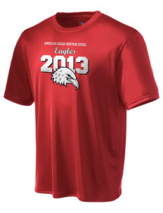 American Indian Heritage School Eagles Champion Men's Wicking T-Shirt