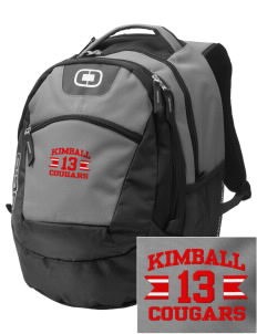 Kimball Elementary School Cougars Embroidered OGIO Rogue Backpack
