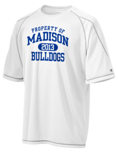 Madison Middle School Bulldogs Champion Men's 4.1 oz Double Dry Odor Resistance T-Shirt