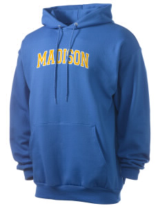 Madison Middle School Bulldogs Men's 7.8 oz Lightweight Hooded Sweatshirt