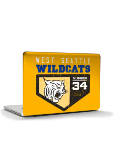 "West Seattle High School Wildcats Apple MacBook Pro 17"" & PowerBook 17"" Skin"