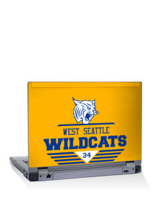 "West Seattle High School Wildcats 15"" Laptop Skin"