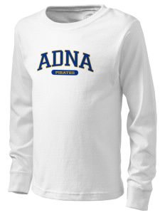 Adna Senior High School Pirates  Kid's Long Sleeve T-Shirt