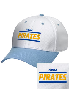 Adna Senior High School Pirates Embroidered New Era Snapback Performance Mesh Contrast Bill Cap