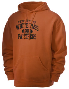 White Pass Senior High School Panthers Men's 80/20 Pigment Dyed Hooded Sweatshirt
