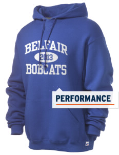 Belfair Elementary School Bobcats Russell Men's Dri-Power Hooded Sweatshirt
