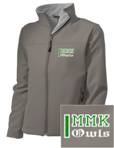 Mary M Knight School Owls Embroidered Women's Soft Shell Jacket